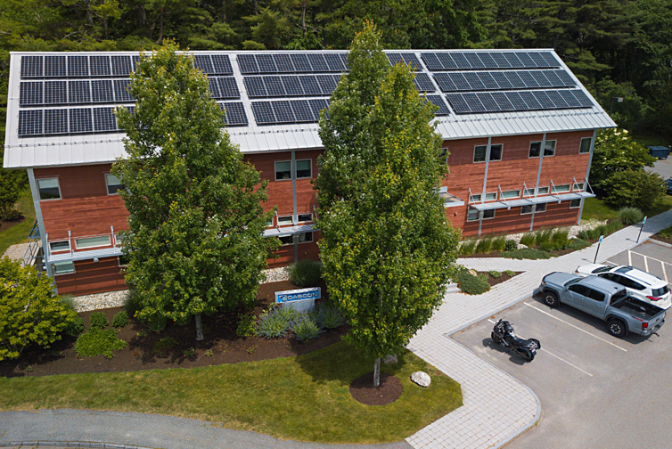 Cascon's 25 kW solar array